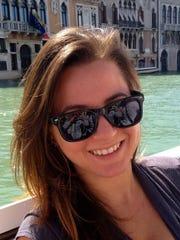 Columnist Jenna Intersimone in Venice, Italy.