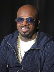 This May 24, 2018 file photo shows music maker Jermaine Dupri during an interview in New York. Dupri and Travis Scott have been criticized for taking part in Super Bowl-related events, but their shows among others will still go on. Dupri will host a concert series called Super Bowl Live.
