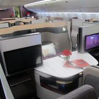 Qatar Airways unveils luxurious new 'Qsuite' business-class seats
