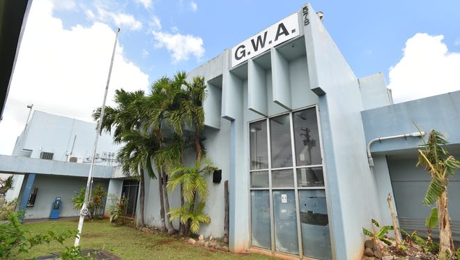 The exterior of the former Guam Waterworks Authority offices in Tamuning photographed on June 1, 2015