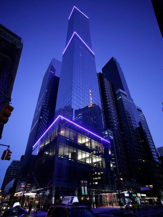 New NYC Marriott is USA's tallest hotel building