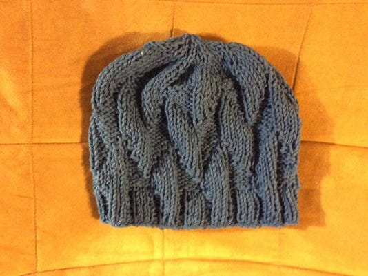 Blue Waves of Hope chemo cap