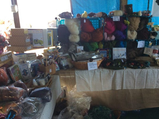 Yarn was everywhere at the Garden State Sheep & Fiber