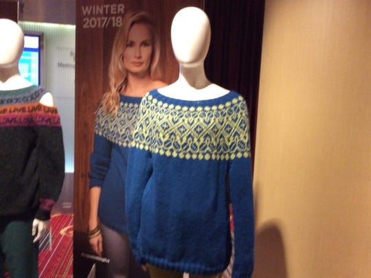 This is the yoke sweater that Deborah Newton designed