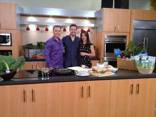Rod Braga, Chadwick Boyd and host Olga Villaverde on the set of The Balancin.JPG