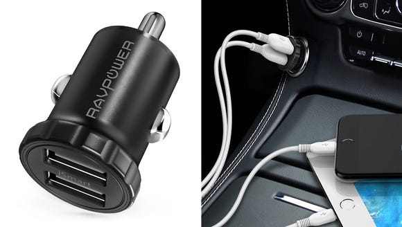 Charge your devices while on the go.