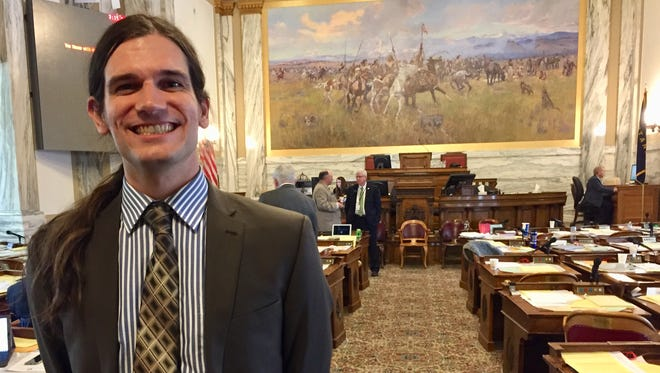 Rep. Adam Rosendale, R-Billings, says he is a resident of Great Falls now.