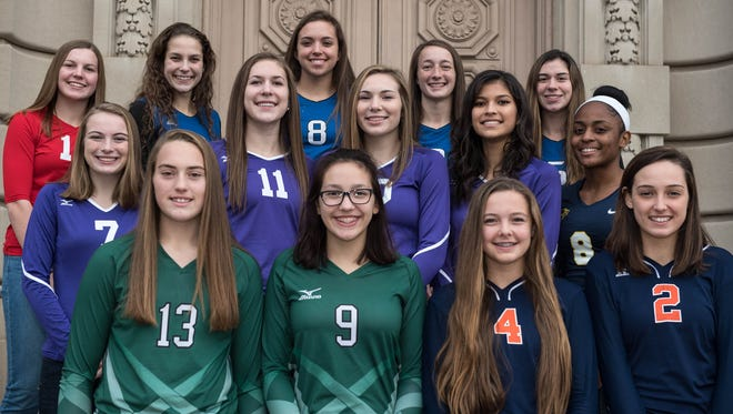 The 2016 All-City Volleyball Team, as selected by city coaches and the Enquirer sports staff.