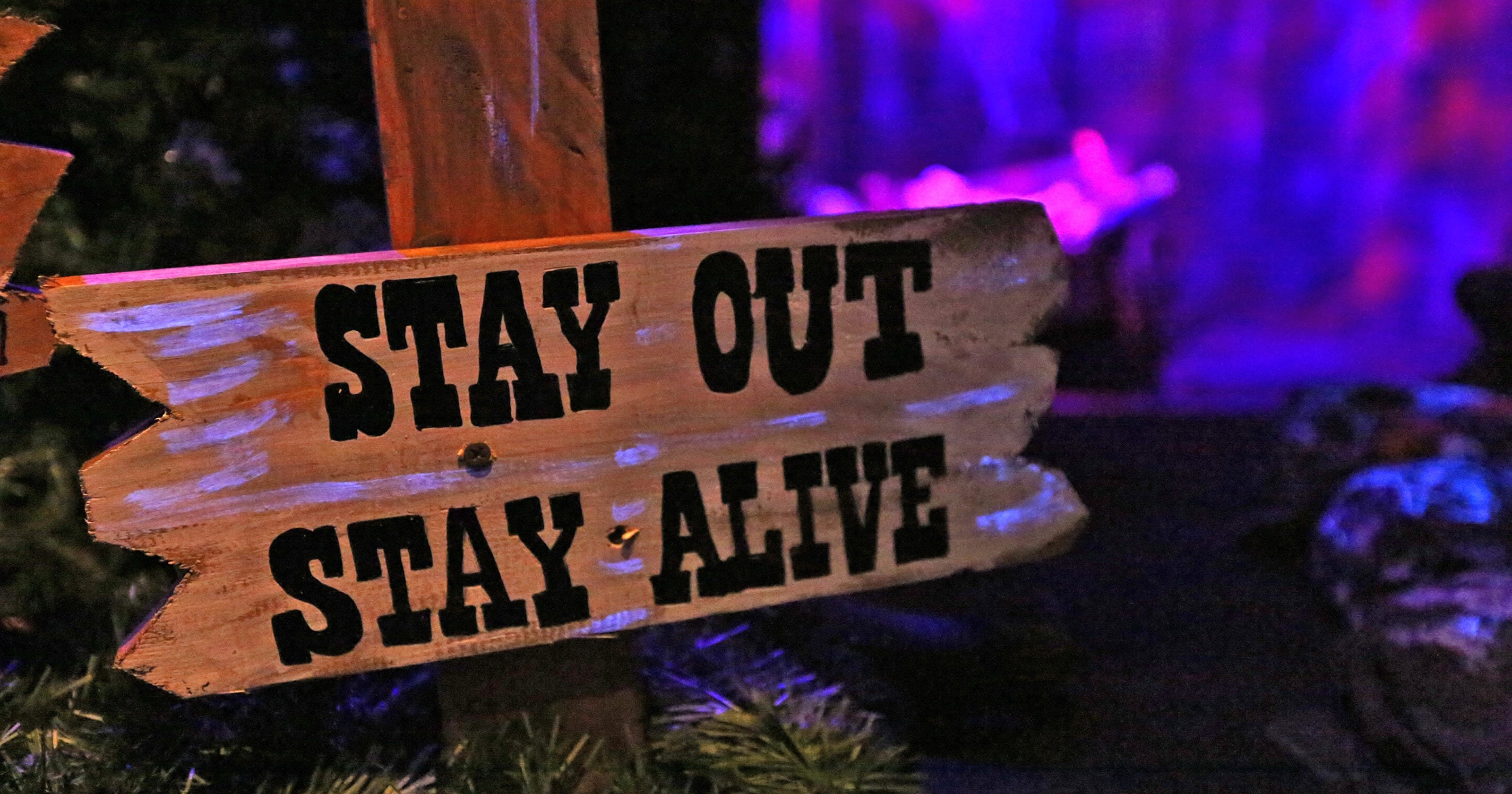 Image result for stay out rooms haunted house