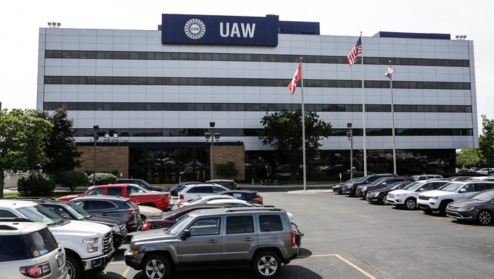 UAW headquarters, also known as Solidarity House, on