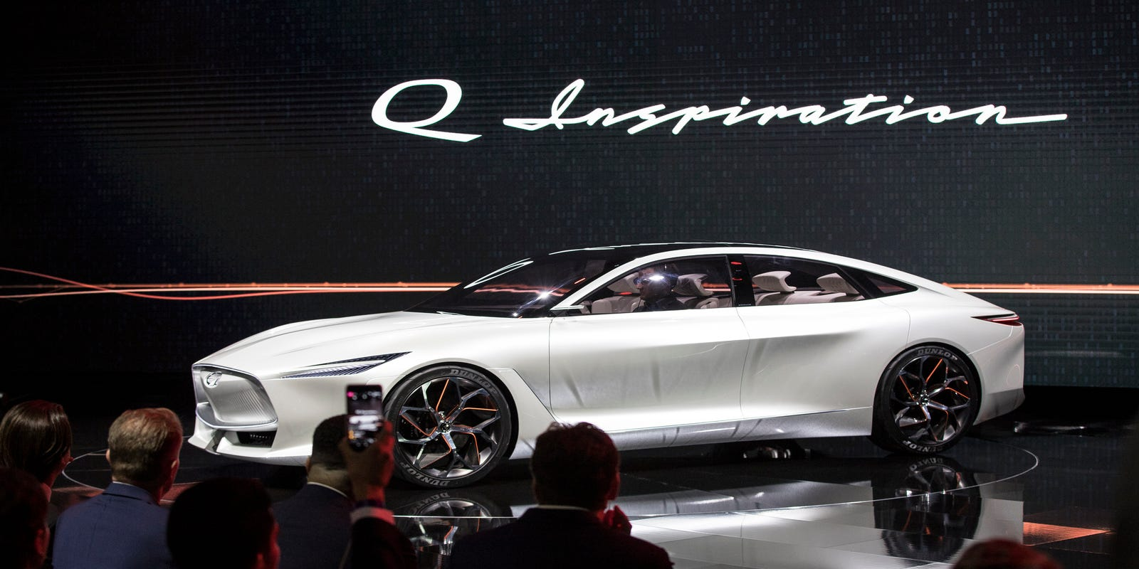 Infiniti Q Inspiration Concept Meant To Inspire Future Car Lineup - Infiniti car show