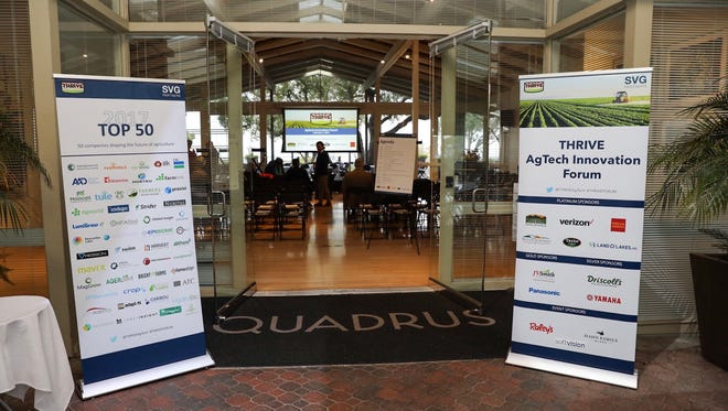The first annual THRIVE Forum attracts more than 200 attendees, many of them from  Silicon Valley and Salinas Valley