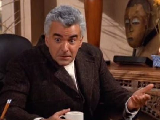 J. Peterman (or actor John O'Hurley to his family) is coming to Des Moines.