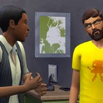 "In ""The Sims 4"" the Sims are able to multitask and achieve multiple personal aspirations, ranging from finding a soul mate to becoming a best-selling author."