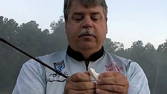 Bassmaster Open Series angler Scott McGehee shows how much fun fishing a buzz frog can be.