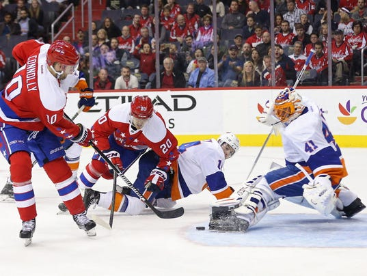 USP NHL: NEW YORK ISLANDERS AT WASHINGTON CAPITALS S HKN USA DC