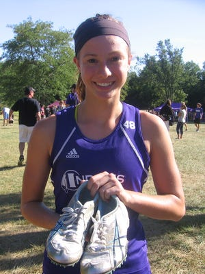 Indianola's Kristina Quijano has run cross country and played volleyball the last two years.