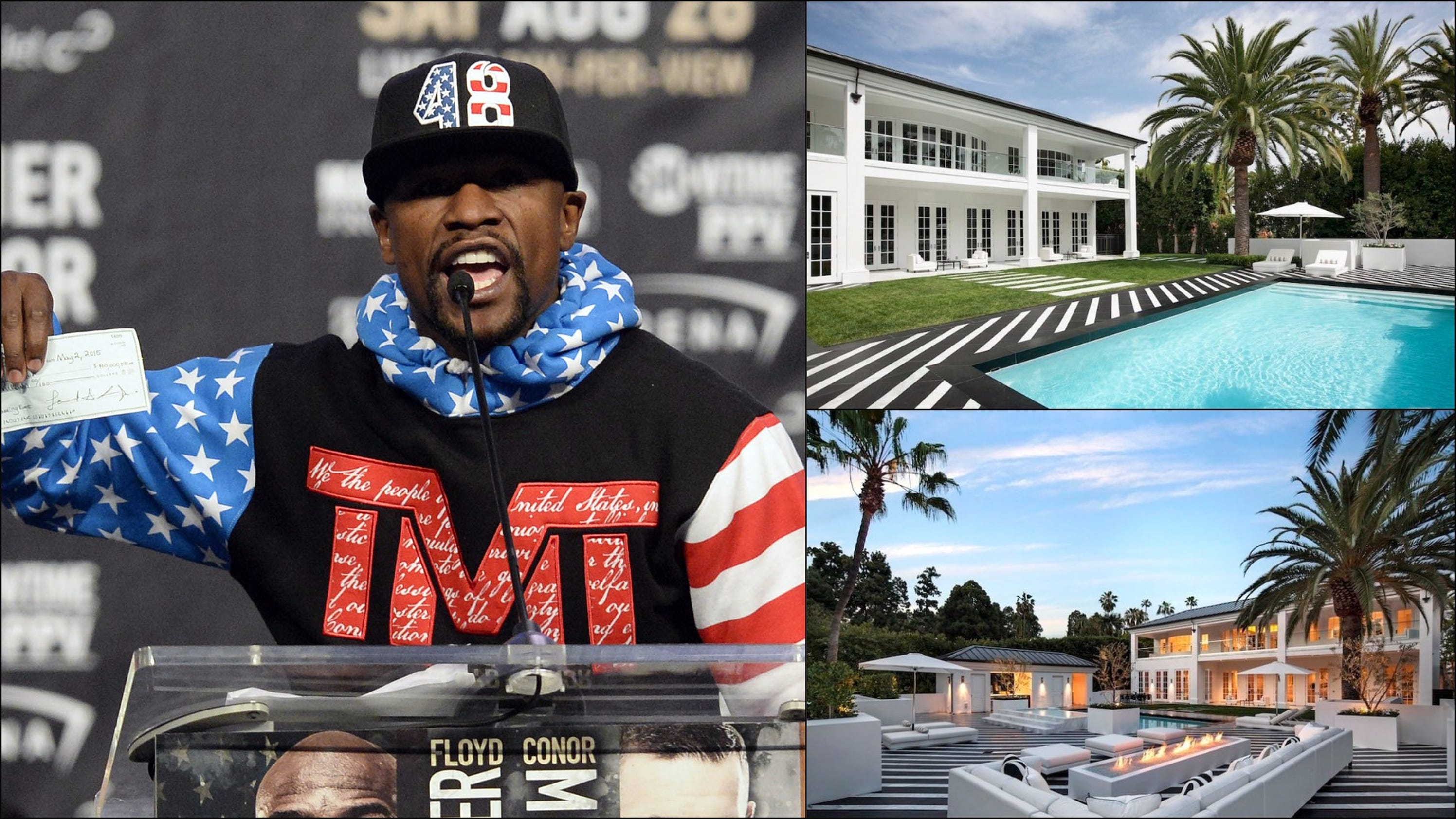 Look inside Floyd Mayweathers new M mansion