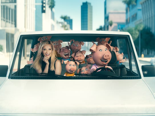 Reese Witherspoon hits the road with her character,