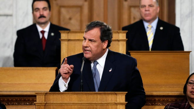 Gov. Chris Christie is set to deliver his budget address on Feb. 24.