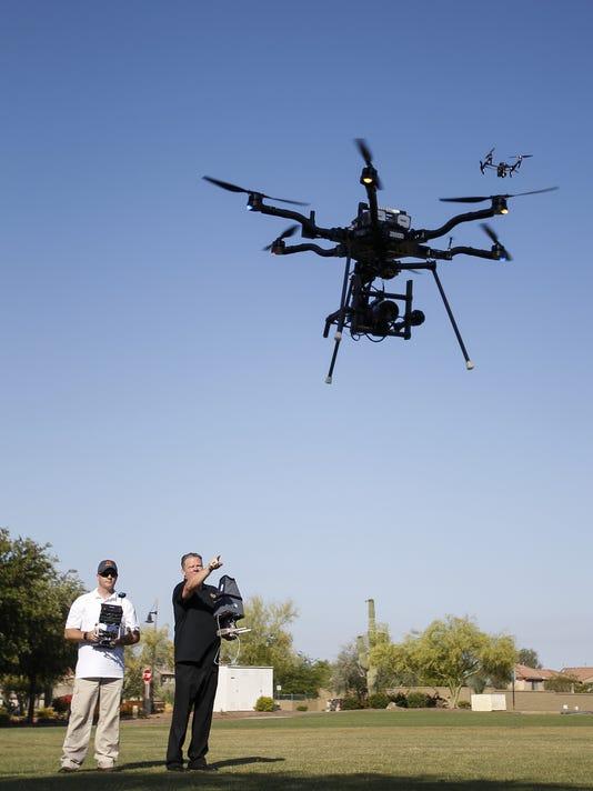 Mark Taylor, drone pilot