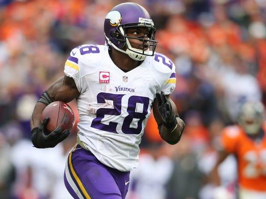 Week 1, Saints vs. Vikings: Adrian Peterson's return