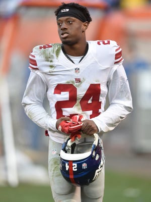 The Giants have suspended cornerback Eli Apple for the final game of the 2017 season.