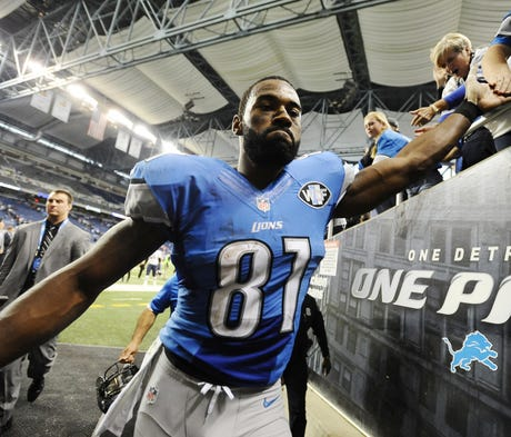 Johnson isn't happy with the way the Lions treated...