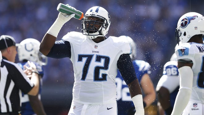 Titans right tackle Michael Oher