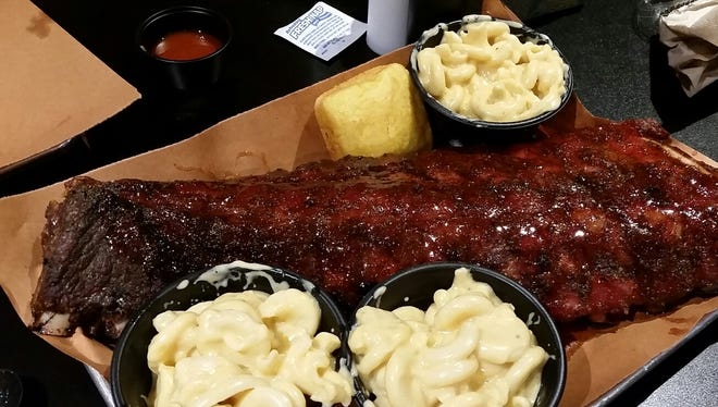 Ribs from Good Smoke BBQ in East Rochester.