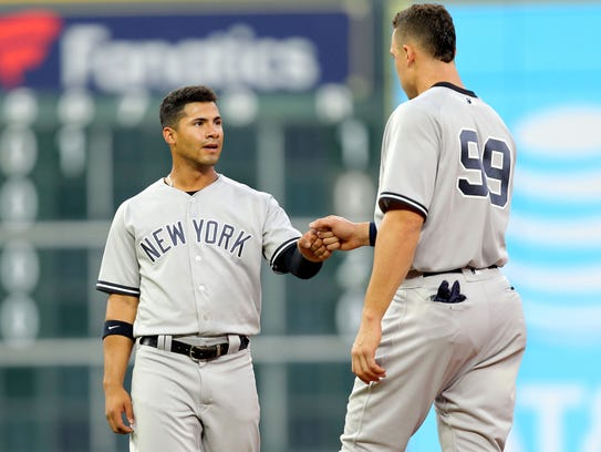 Since getting the call, Yankees second baseman Gleyber