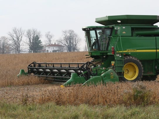 Farmers in St. Clair and Sanilac counties produced nearly 8.5 million bushels of soybeans in 2017, the majority of which are exported.