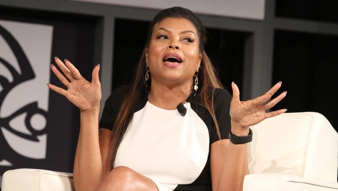 Taraji P. Henson at American Black Film Festival in New York on June 12.