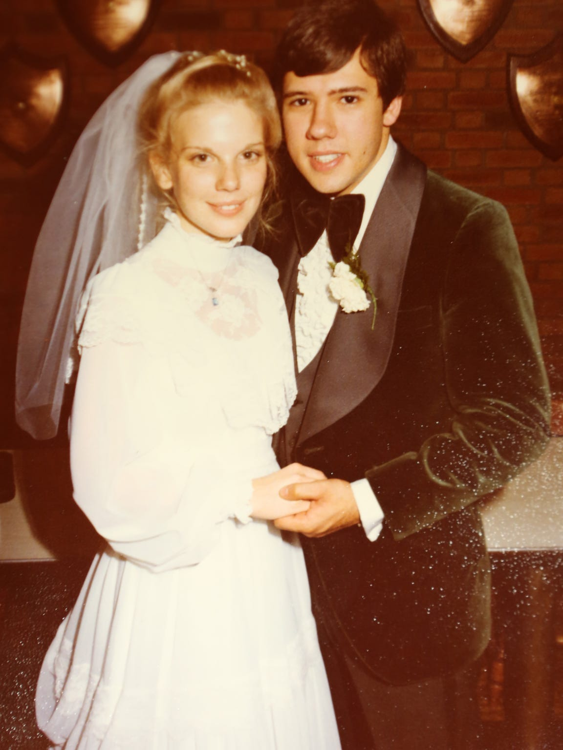 Lee and Judie Pagones married in 1978. They have four