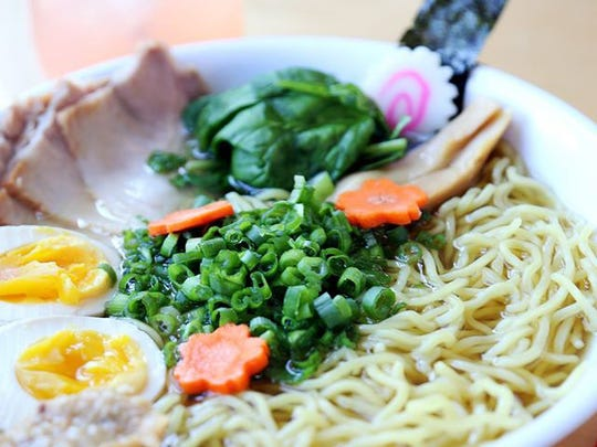 A variety of toppings allow patrons to build their own ramen bowl at Umami.
