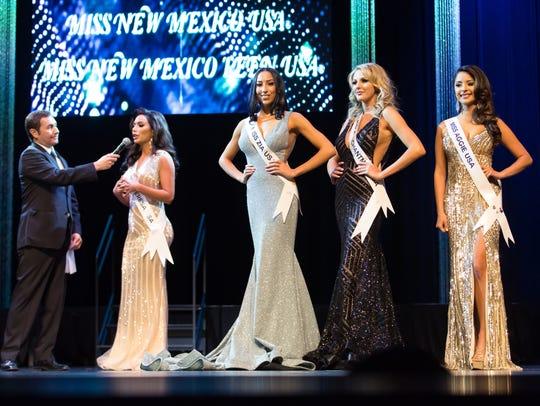 Miss Santa Teresa USA Victoria Sinclair answers the