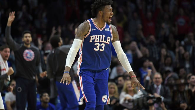 Philadelphia 76ers forward Robert Covington (33) signed a contract extension on Friday.