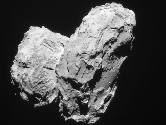 Comet Two Cores
