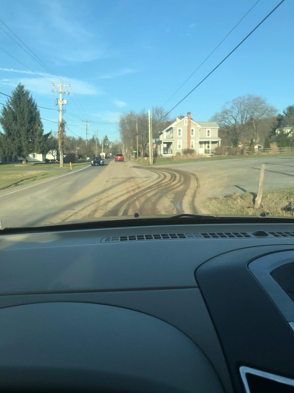 Mud caused by Atlantic Sunrise pipeline construction