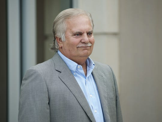 Rankin County businessman Cecil McCrory during appearance