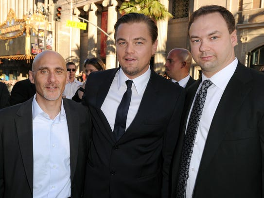 """Thomas Tull was executive producer of """"Inception,"""""""