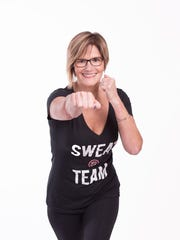 Kim Bibeau teaches Rock Steady Boxing.