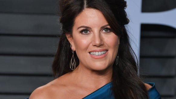 Monica Lewinsky attends the 2018 Vanity Fair Oscar