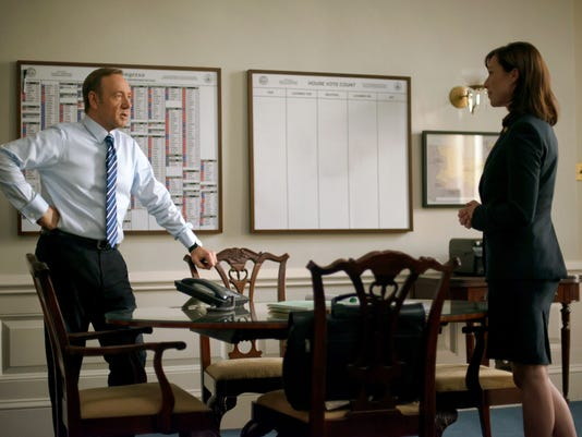 Kevin Spacey, Molly Parker, House of Cards