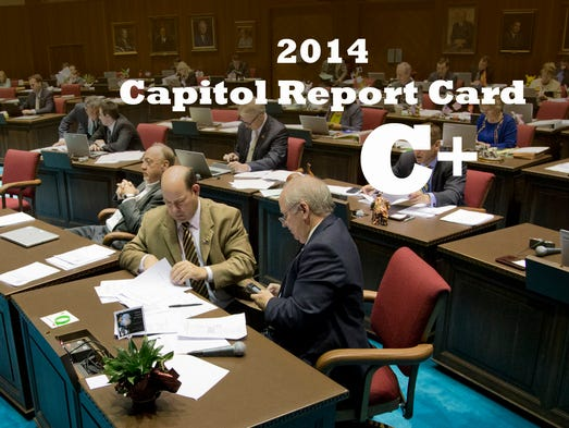 This legislative session ended on a high note, with swift, bipartisan action to reform the state's broken child-welfare system. Taken with their actions during the regular session, lawmakers earned a C+ average this year. The highlights:
