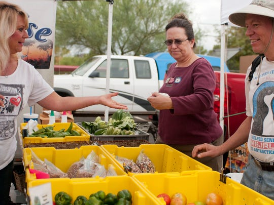 Wet 'n' Wild water park hosts the Pinnacle Peak Farmers Market on Saturdays through May.