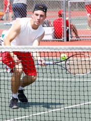 Wisconsin Rapids' Dane Steidl reached the title match at No. 1 singles during the Wisconsin Valley Conference boys tennis meet Thursday at Wausau East.