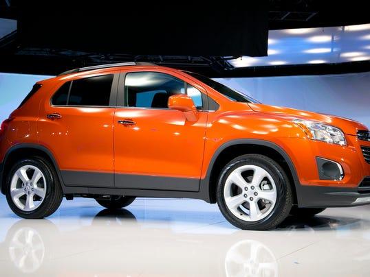 Chevrolet's small Trax SUV starts under $21,000