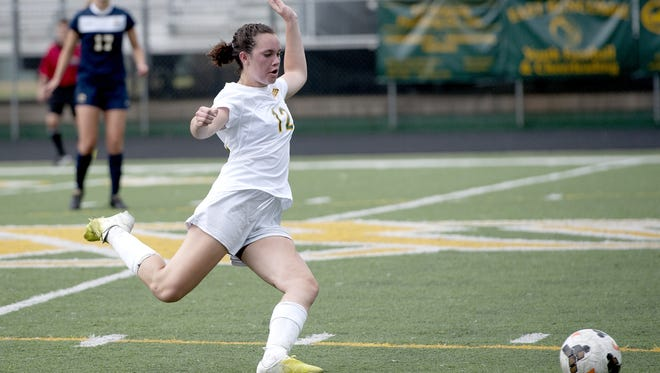 Reynolds senior Celine Jacobi Barham has committed to play soccer for Cape Fear Community College in Wilmington.