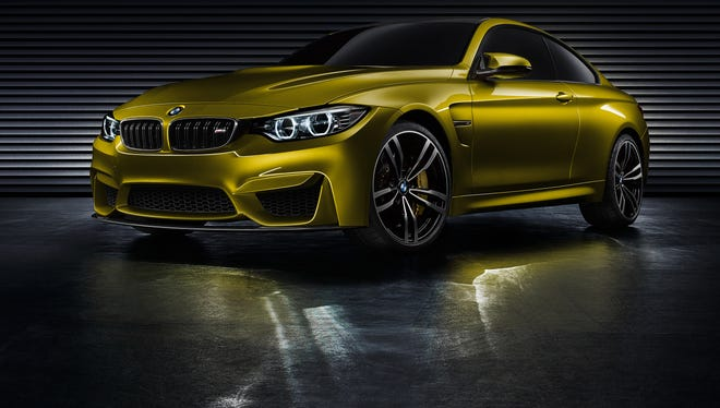 BMW is showing off a performance concept, the M4